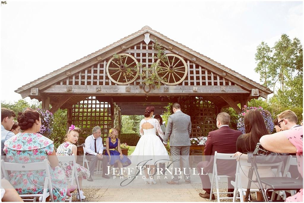 Vintage Wedding Maidens Barn