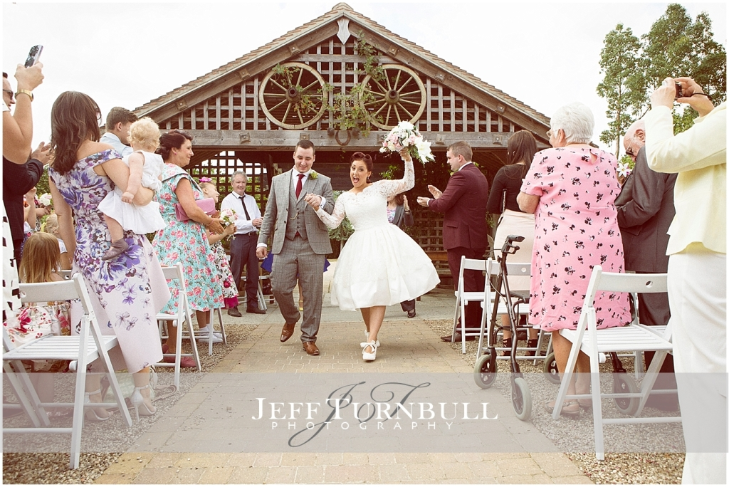 Vintage Wedding Essex Barn