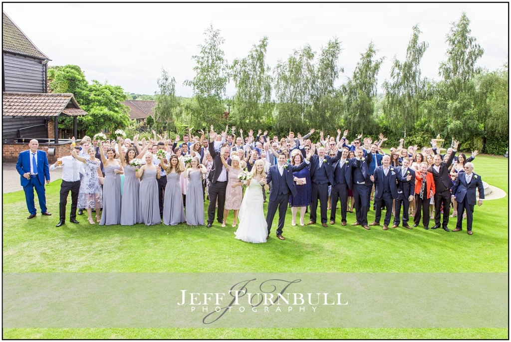 Summer Wedding Crondon Park