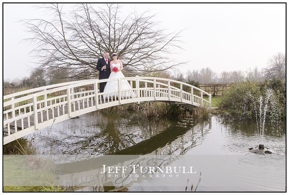 Stunning bridge at the Fennes Wedding venue