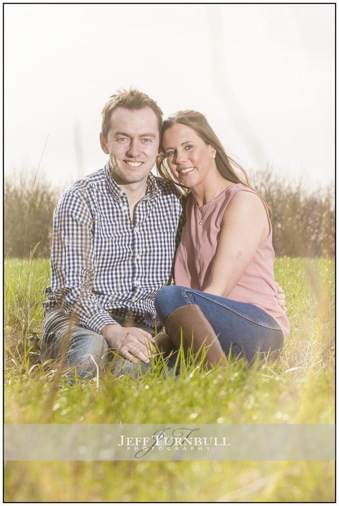 Engagement Shoot Hertfordshire Woodland