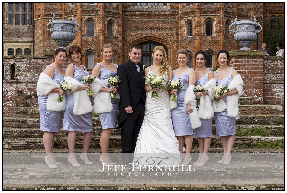 Bridesmaids Layer Marney Tower Wedding