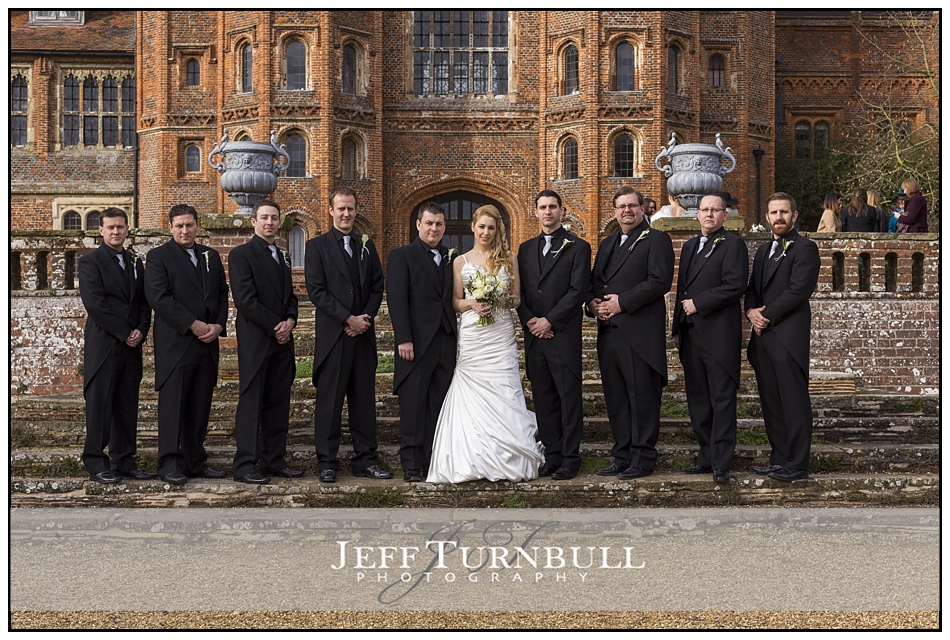 Groomsmen Layer Marney Tower Wedding