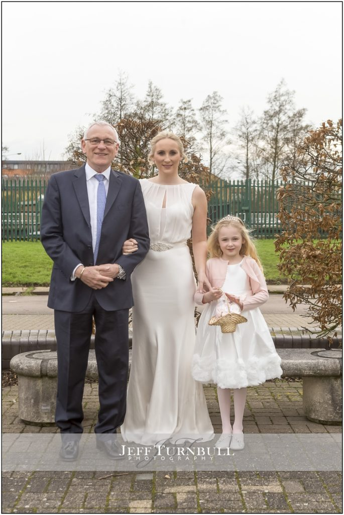 Bride, Father and Daughter