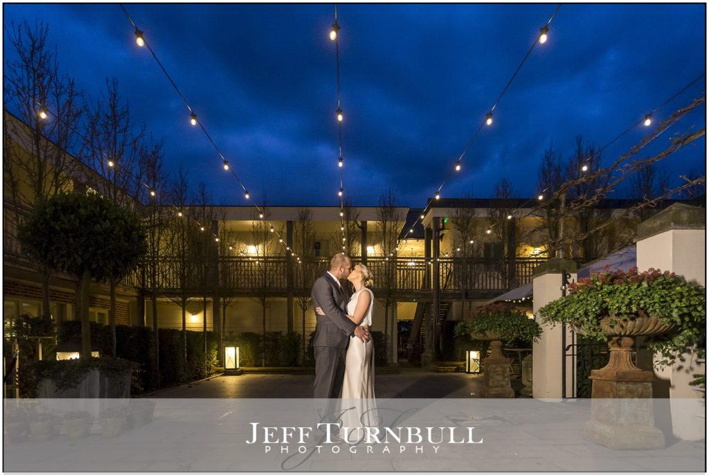 Evening Wedding Photography Lion Inn
