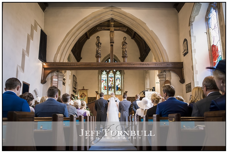 Bride and Groom St Mary the Virgin Church, Fryerning