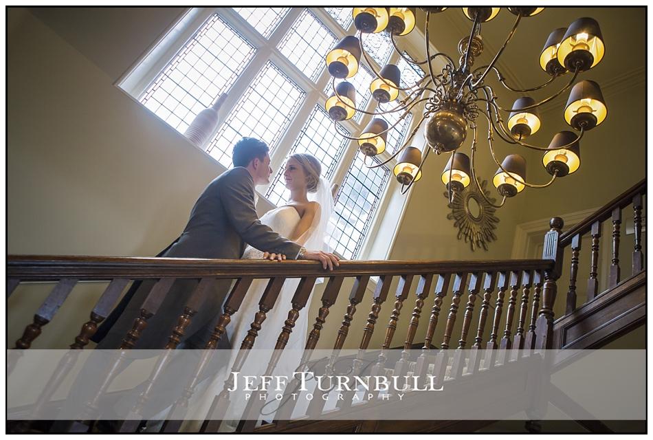 Bride and Groom Chandelier Pontlands Park