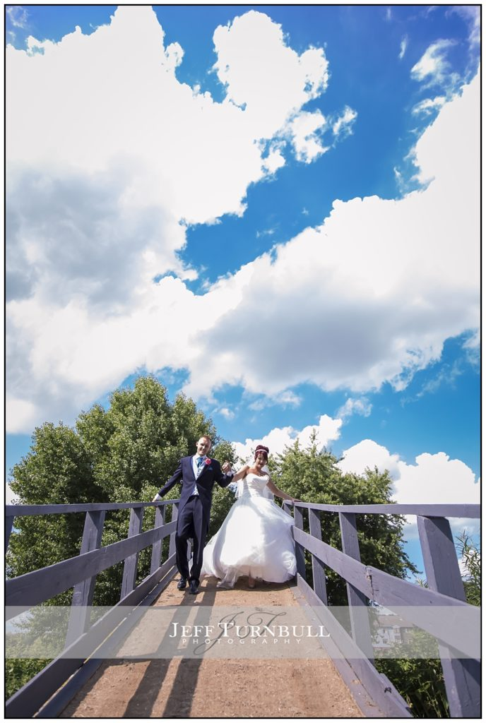 Bride and Groom All Saints Hotel Bridge