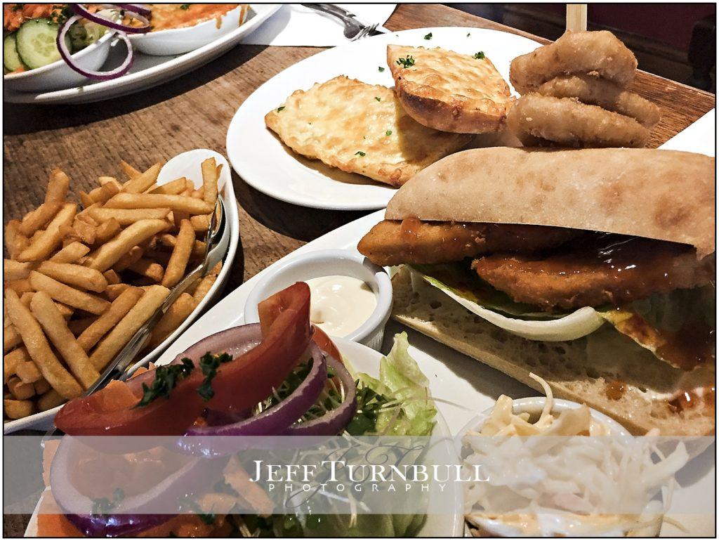 Food at the Wharf Tavern