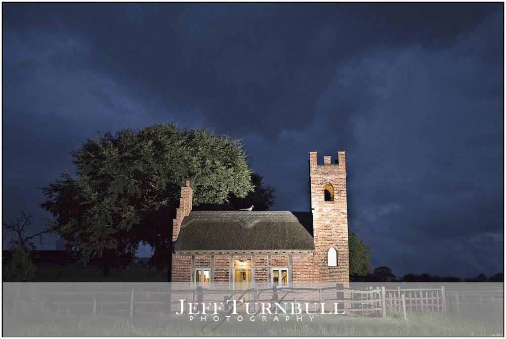 Shooting Folly, Cheswardine, Shropshire at Night