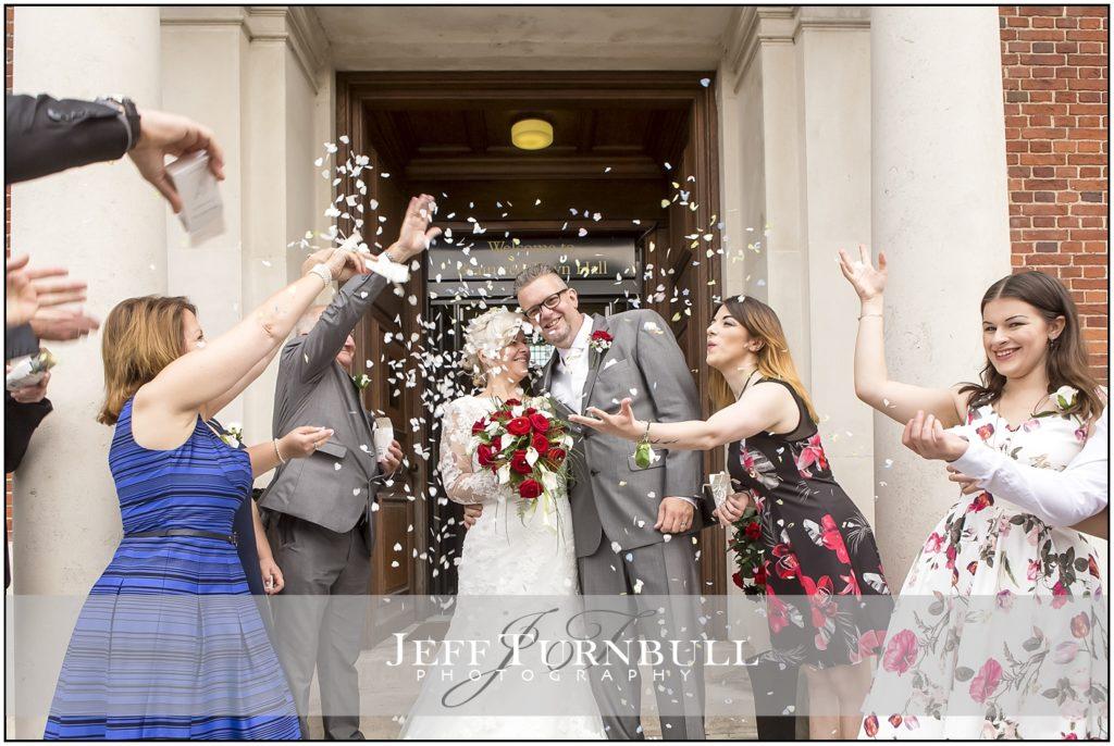 Wedding Photography Braintree Town Hall