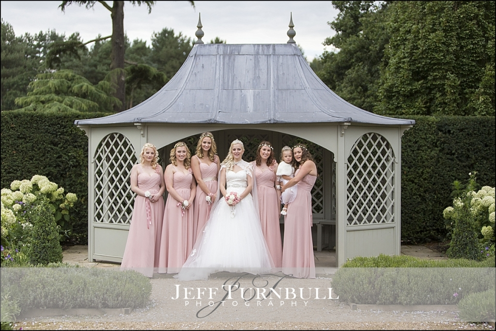 Bridesmaids Photographs Marks Hall