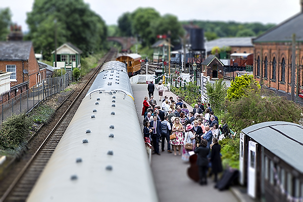 East Anglian Railway Museum Wedding Photographer