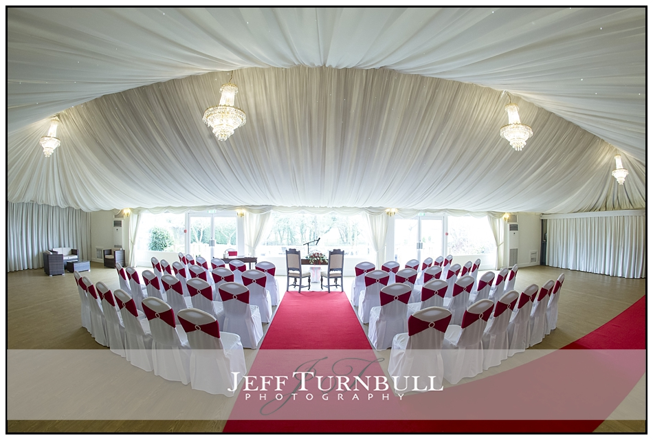 Marquee at the Fennes Wedding venue