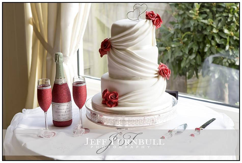 Wedding Cake at the Fennes Wedding venue