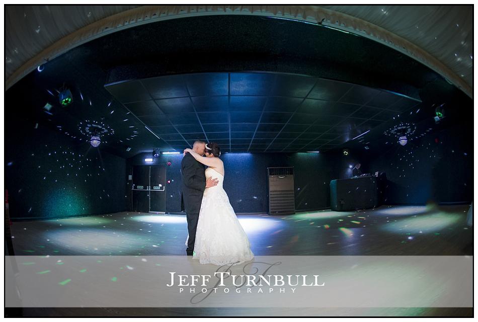 The First dance Fennes Wedding venue