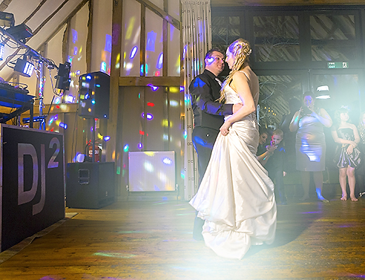 First Dance ay Barn Brasserie