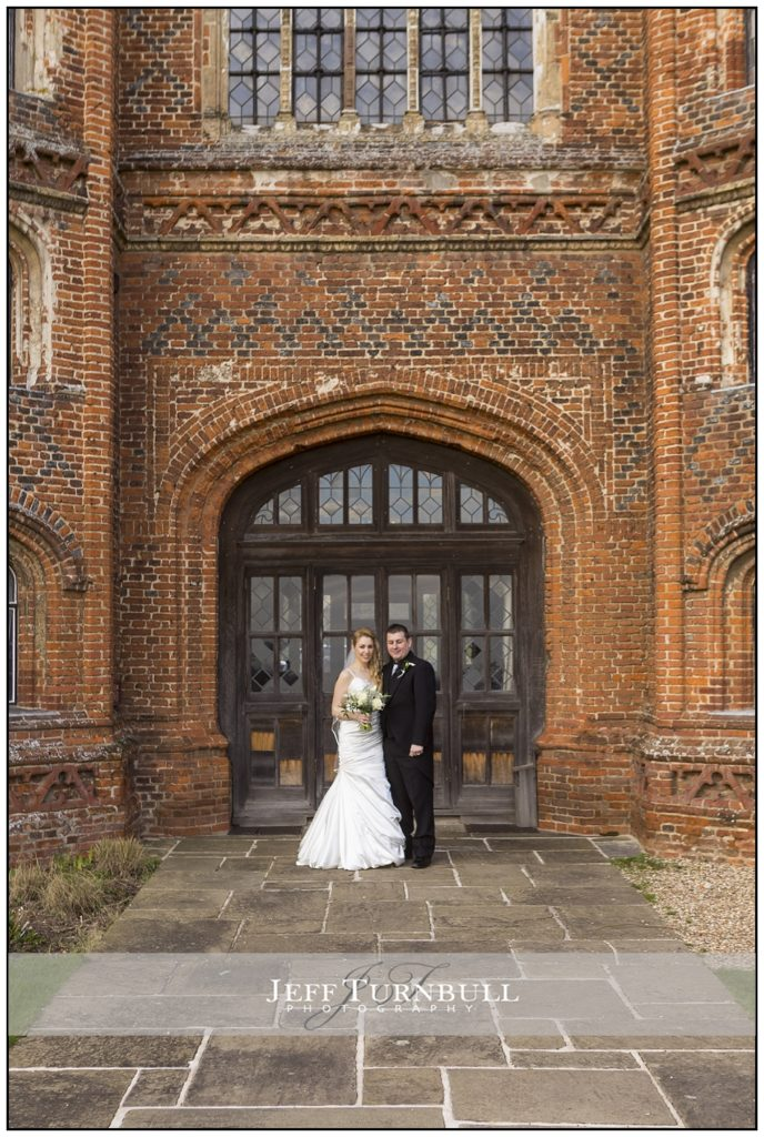 Layer Marney Tower Bride Groom