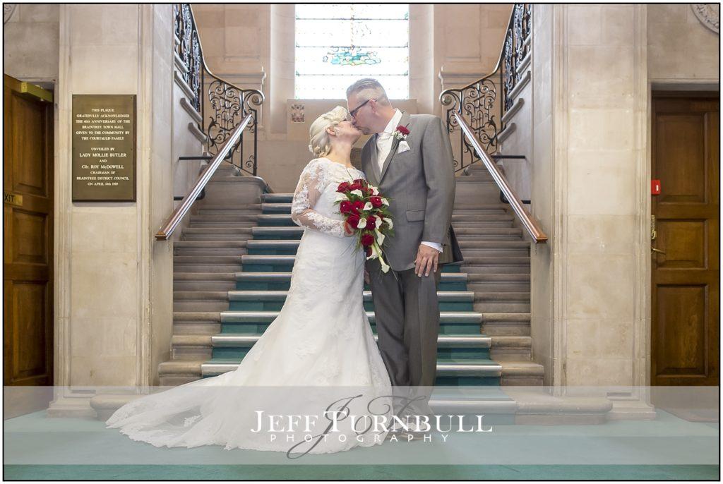 Wedding Photographer Braintree Town Hall