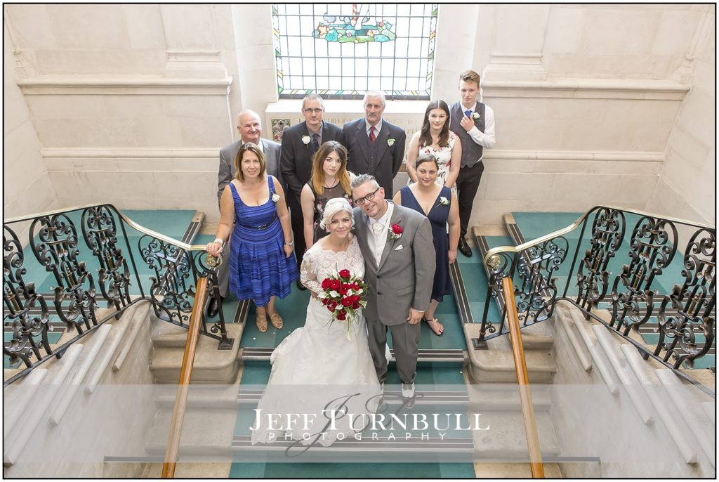 Wedding Photographs at Braintree Town Hall