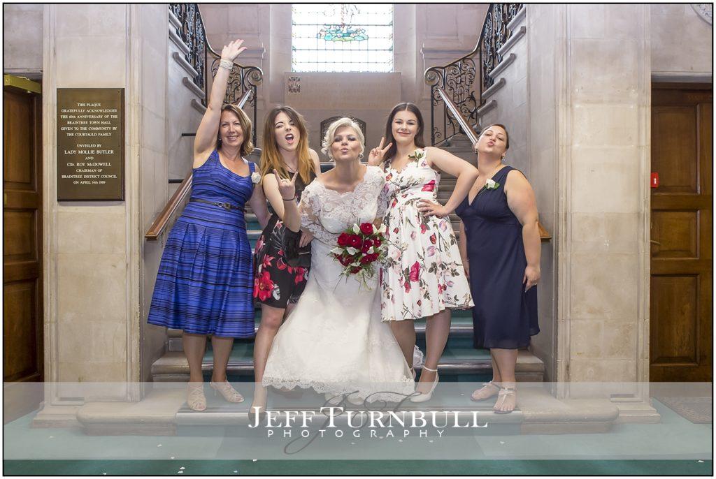 Rock and Roll weddings Braintree Town hall