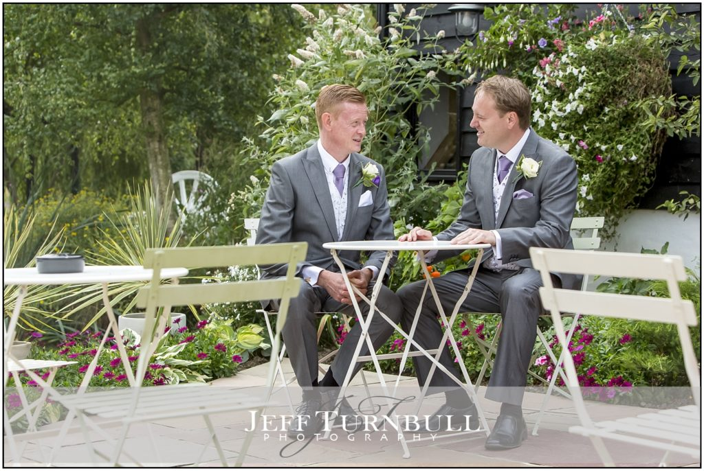 Groom and Best Man High House Weddings