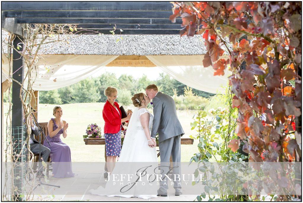 Thatched Gazebo High House Wedding Venue