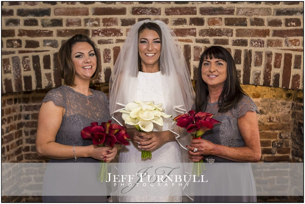 Leez Priory Wedding Bride and Bridesmaids