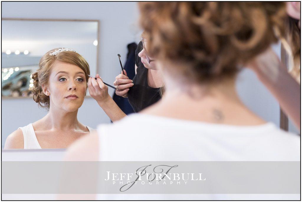 Bridal Prep Blake Hall Wedding Venue