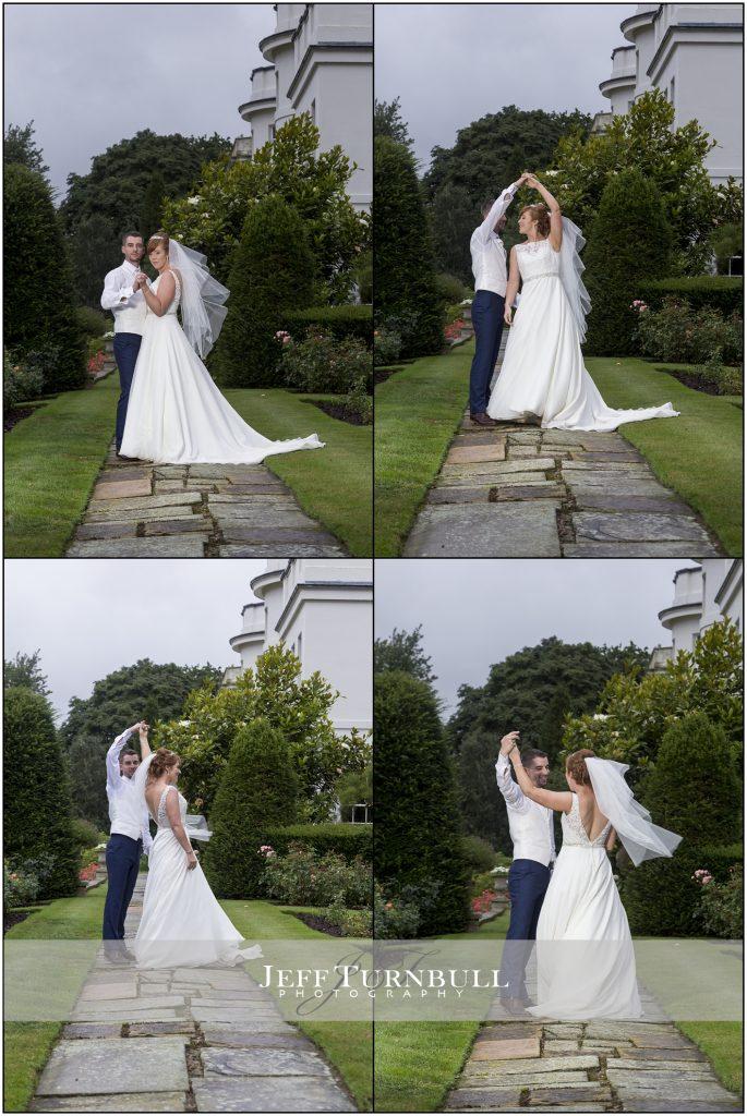 Bride and Groom Dancing Blake Hall Wedding Venue