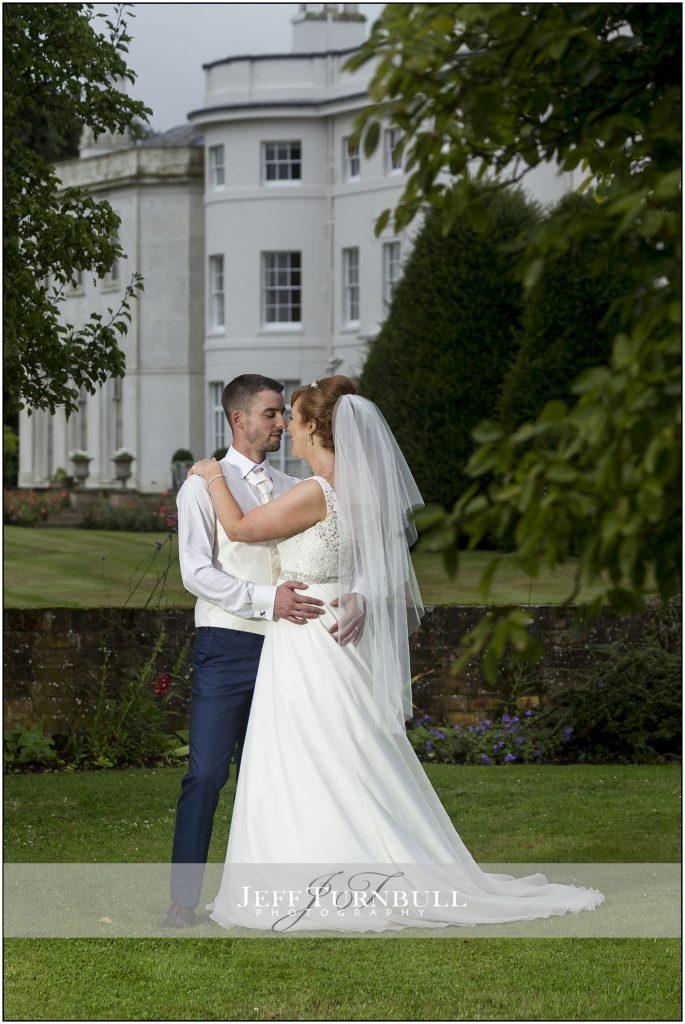 Bride and Groom Blake Hall Wedding Venue