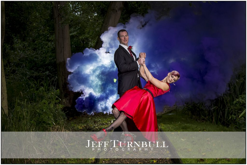 Wedding Photography Smoke Grenade