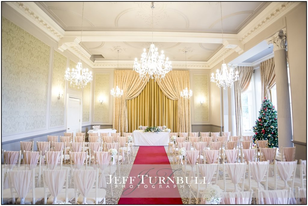 Wedding Ceremony Room Down Hall
