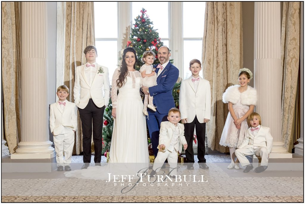 Down Hall Christmas Wedding