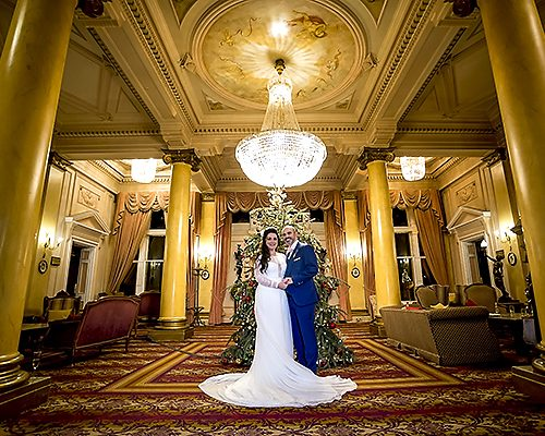 Down Hall Winter Wedding