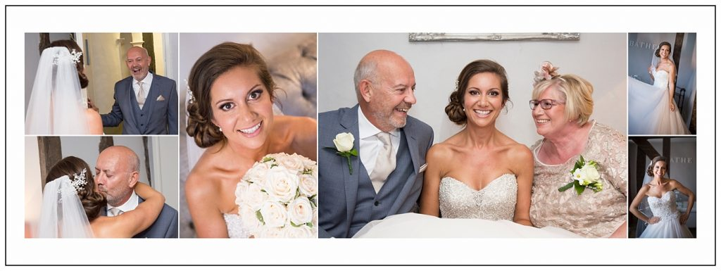 Bridal prep Maidens Barn Wedding Photography
