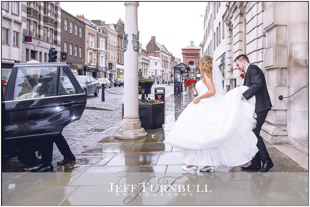 Colchester Town Hall Winter Wedding