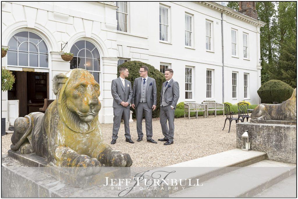 Gosfield Hall Wedding Photography Gromsmen
