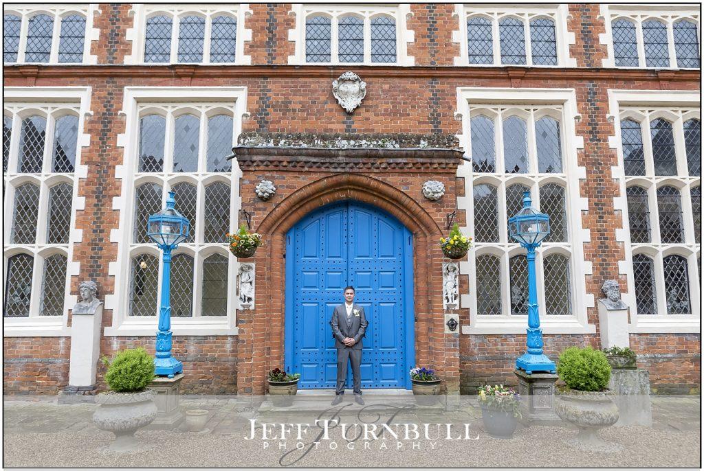 Gosfield Hall Wedding Photography Blue Door