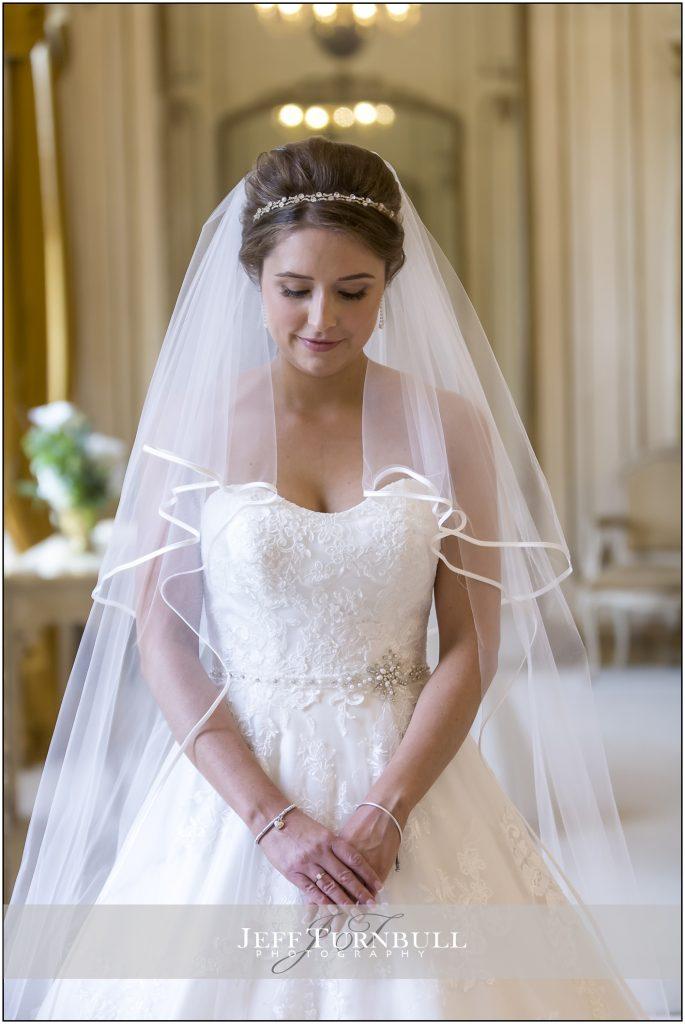 Gosfield Hall Wedding Photography Bride