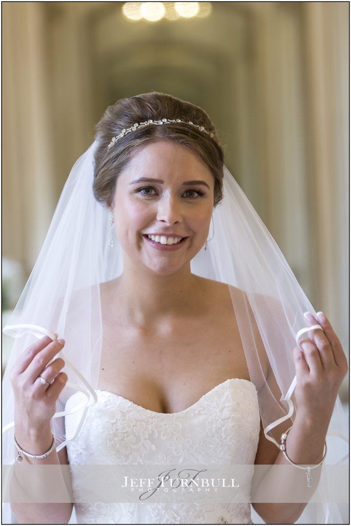 Gosfield Hall Wedding Venue Bride