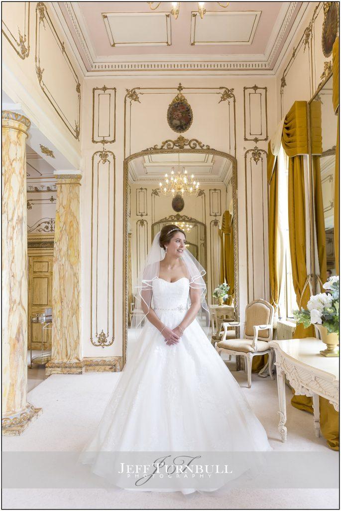 Bride Portrait Gosfield Hall