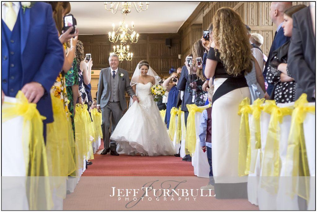 Here Comes the Bride Gosfield Hall