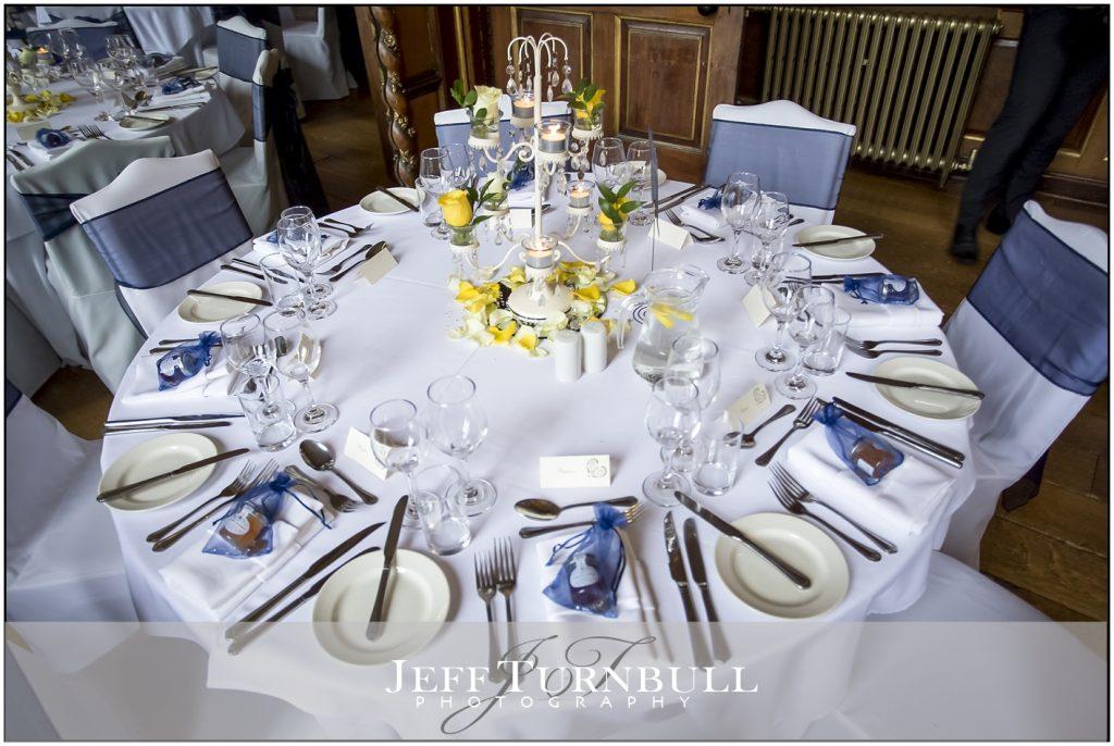 Gosfield Hall Wedding Breakfast