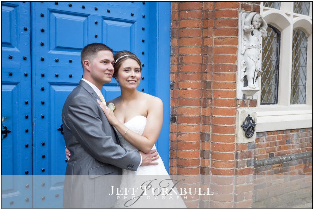 Gosfield Hall Blue Door