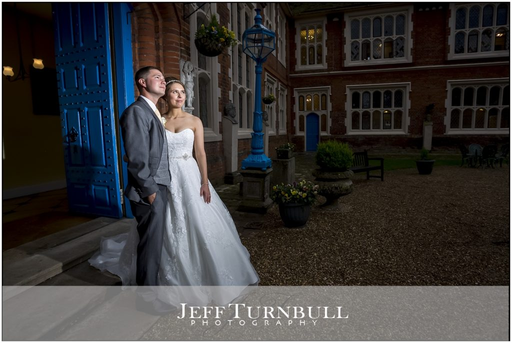 Gosfield Hall Weddings Night Photography