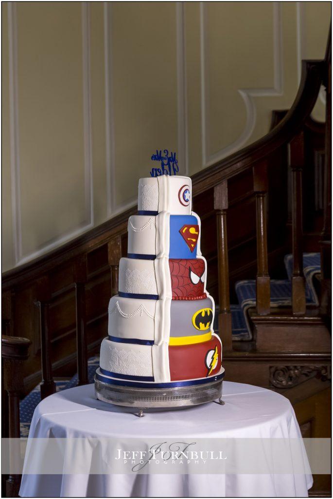 Traditional and Superhero Cake