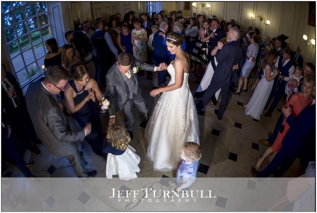 Gosfield Hall Wedding Reception