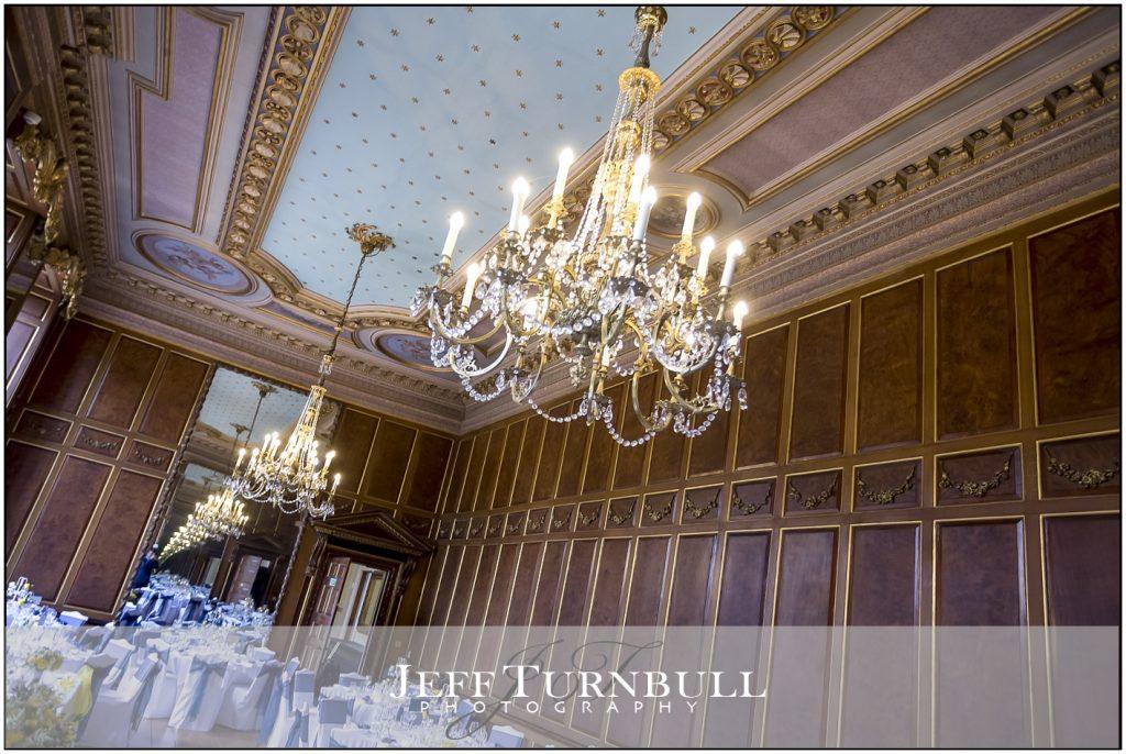 Gosfield Hall Wedding Breakfast Room